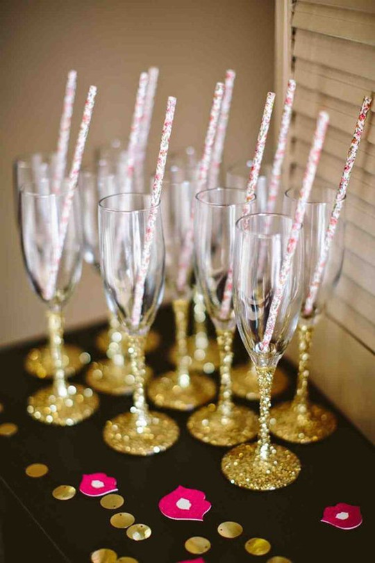 toasting flutes wedding glasses for bachelor party