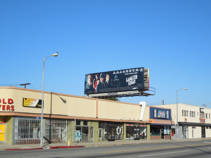Gangster Squad billboard