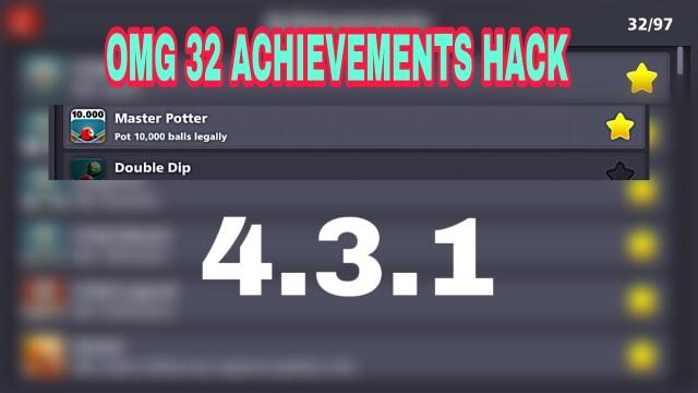 8 ball pool achivement hack 4.3.1