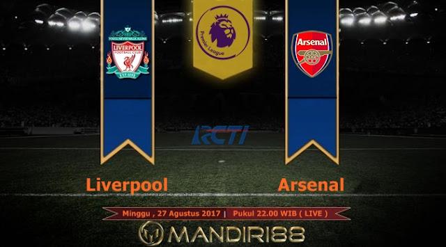 Arsenal akan menghadapi pertandingan berat melawan Liverpool pada lanjutan pekan ketiga P Berita Terhangat Prediksi Bola : Liverpool Vs Arsenal , Minggu 27 Agustus 2017 Pukul 22.00 WIB @ RCTI
