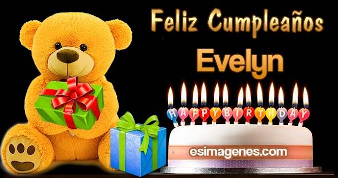 Feliz Cumpleaños Evelyn