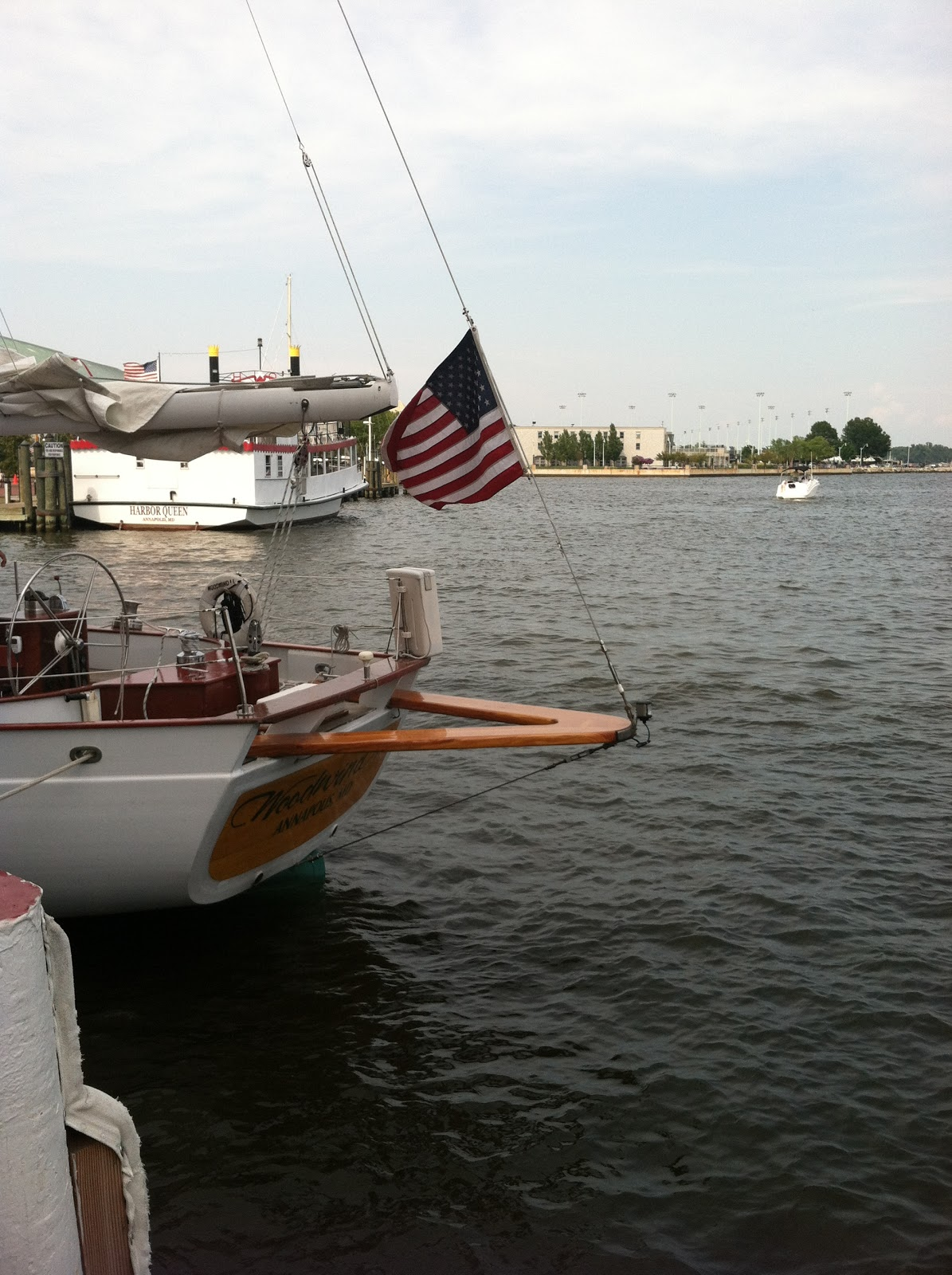 The Blonde Blogger: Sailing On A Movie Star -The Schooner