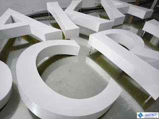 3D Signage with Anzahl Urethane Paint