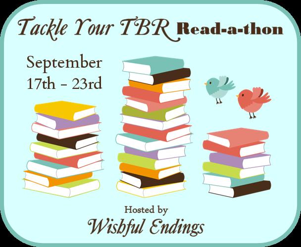 #TACKLETBR readathon #amreading books