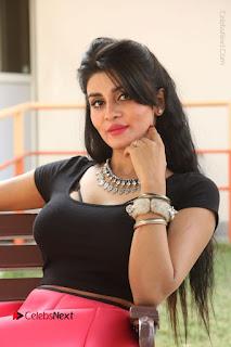 Telugu Actress Harini Stills at Dhyavudaa Movie Teaser Launch  0266.JPG