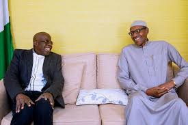 Buhari and Tinubu meet in London