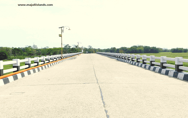 Doriya Bridge Of Majuli Island