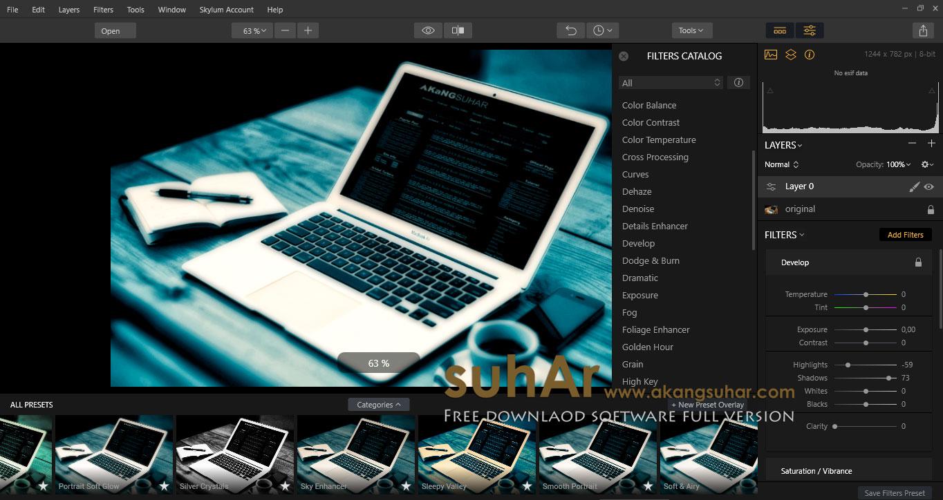 Free Download Luminar 2018 Full Keygen