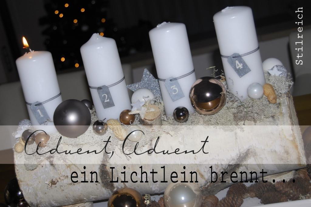 advent advent ein lichtlein brennt s t i l r e i c h blog. Black Bedroom Furniture Sets. Home Design Ideas