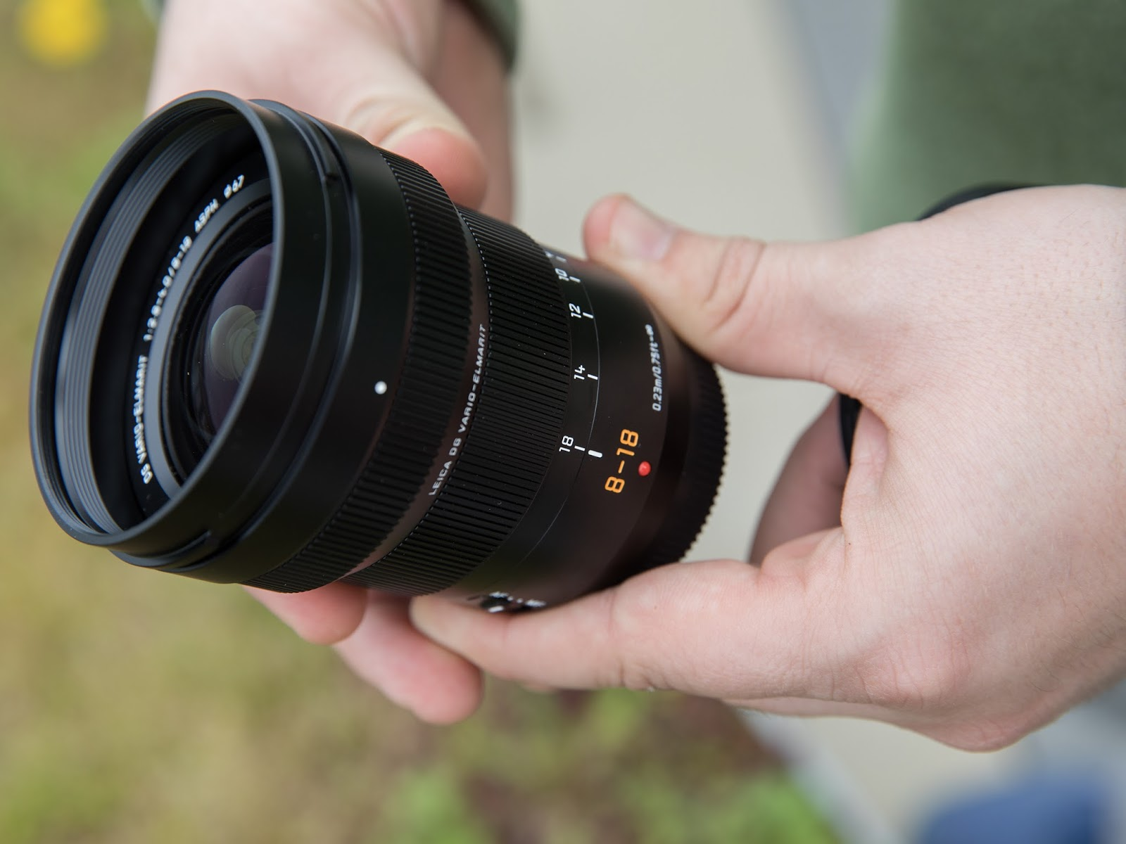 Panasonic Leica DG Vario-Elmarit 8-18mm f/2.8-4 Asph.