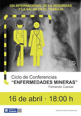 Conferencia sobre enfermedades mineras en el MSM de Sabero (León)