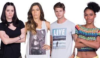 Votação popular define quem deixar o reality hoje: Carol, Nina, Renato ou Sul? - Divulgação/Band