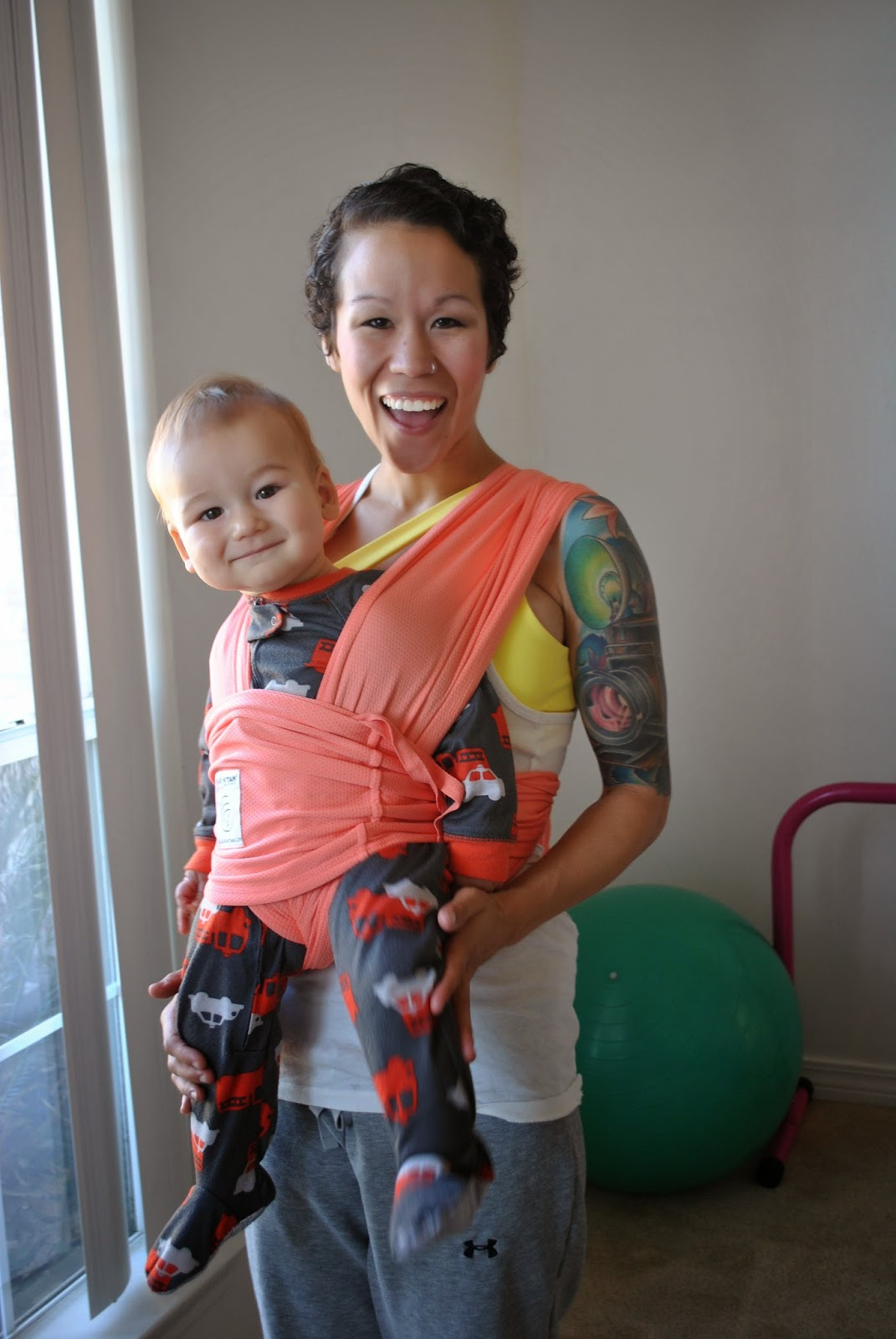 Diary of a Fit Mommy: I Love Babywearing With My Baby K ...