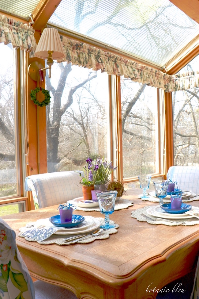 french-country-table-set-with-blue-and-purple-for-spring