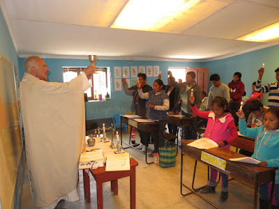 Erstkommunionfeier in Rosa de Oro