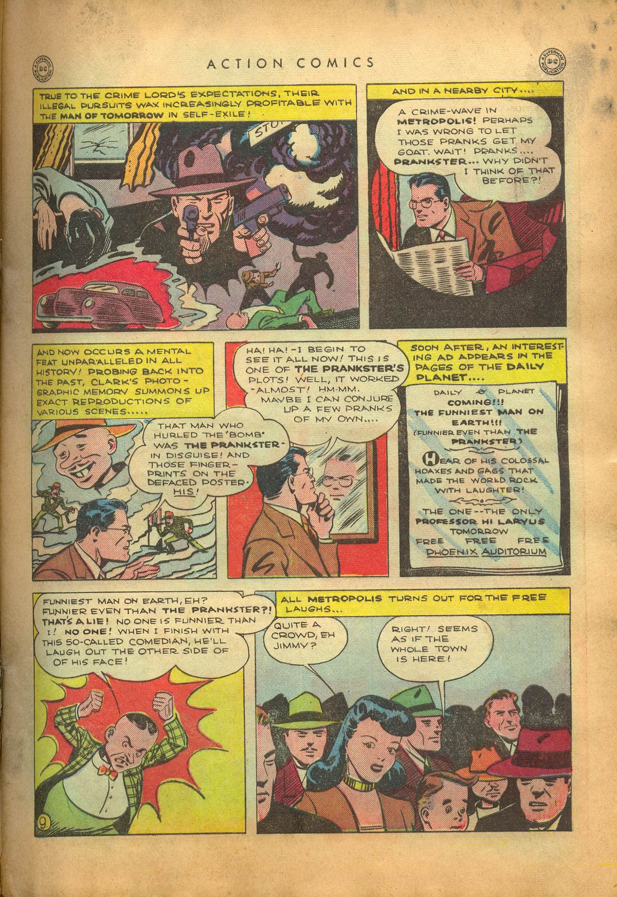 Read online Action Comics (1938) comic -  Issue #95 - 12