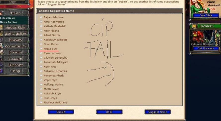 CipSoft Racista