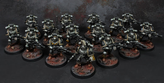 SHOWCASE: Iron Warriors Tactical Squad.