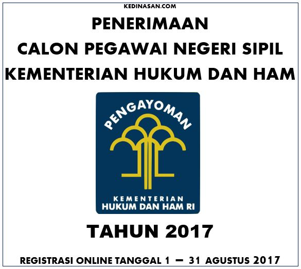 pendaftaran cpns kemenkumham 2017