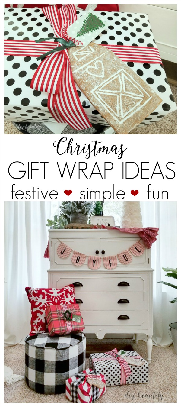 Creative Christmas Gift Wrap Ideas | DIY beautify