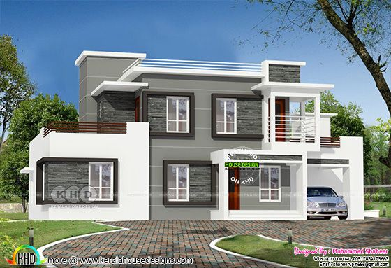 2350 square feet, contemporary style 4 bedroom home