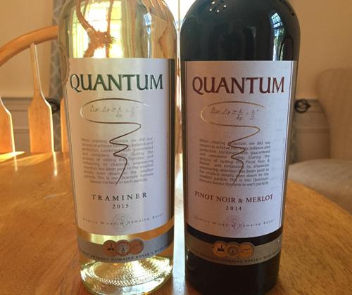 Quantum Traminer 2015 & Quantum Pinot Noir / Merlot 2014
