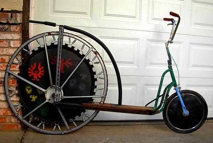 Trampoline Whymsy, une trottinette par Whymcycle