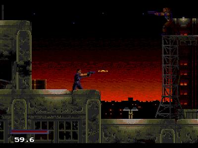 【MD】超級戰警(越空狂龍、Demolition Man),科幻片改編動作遊戲!