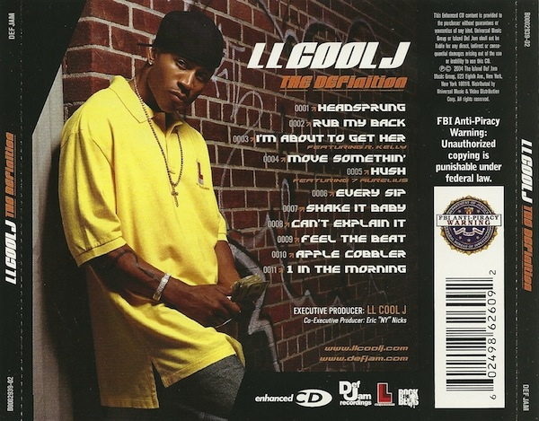 Music Crates Ll Cool J The Definition 2004