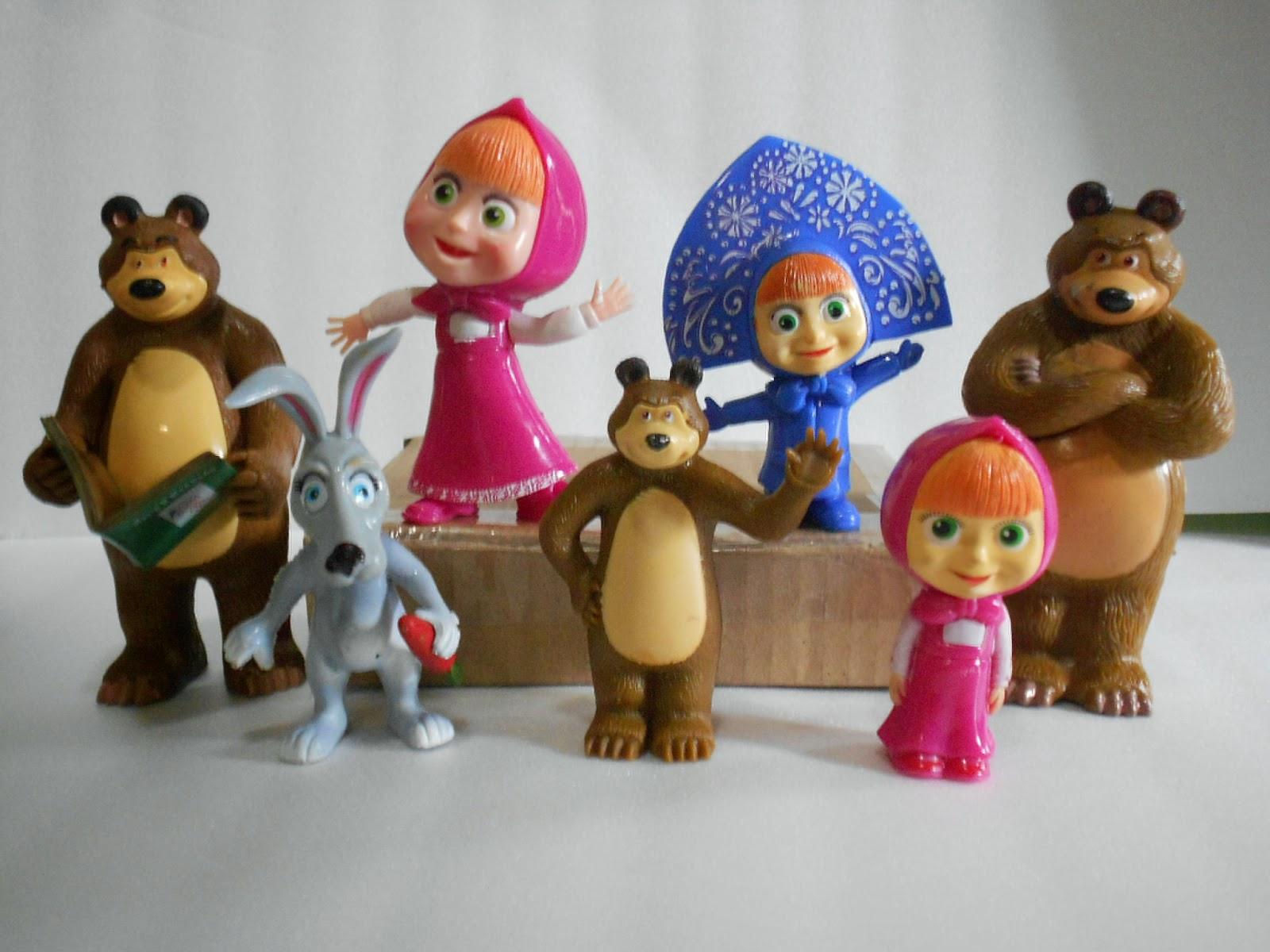 Grosiran Hiasan Kue Ulang Tahun Princess Masha N The Bear