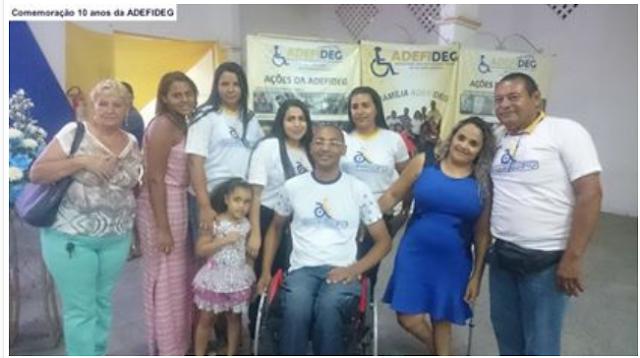 ADEFIDEG em Delmiro Gouveia, completa 10 anos de atuação no município, confira fotos da comemoração