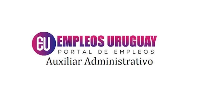 Auxiliar Administrativo - Montevideo