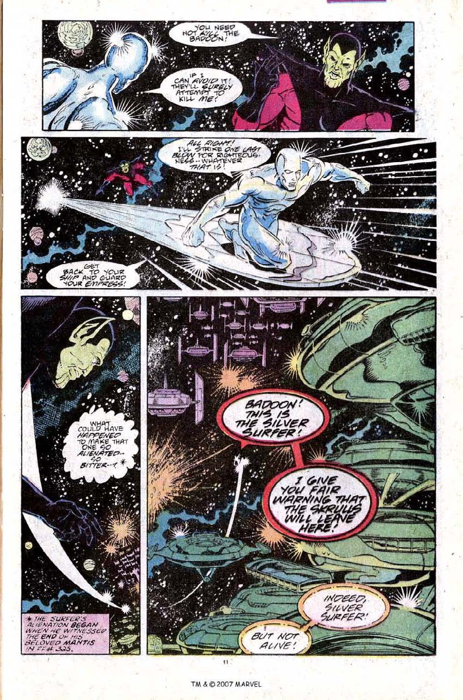 Read online Silver Surfer (1987) comic -  Issue #25 - 13