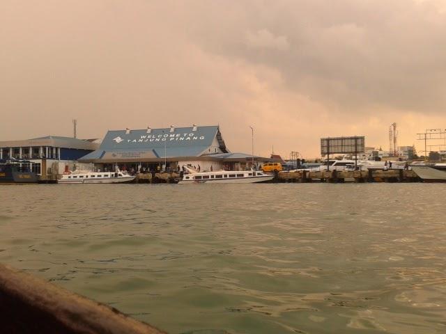 Pelabuhan Pulau Penyengat Tanjung Pinang