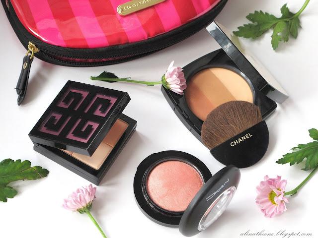 пудра-Givenchy-Le-Prisme-Visage-Mat-MAC-Mineralize-Blush-Chanel-Les-Beiges-Healthy-Glow-отзывы