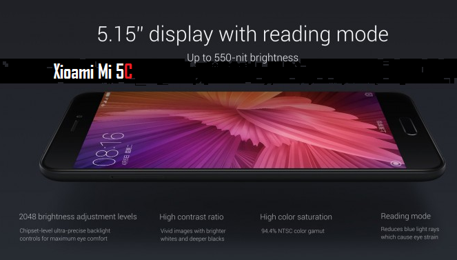 Telefon Pintar  Xiaomi Mi5C