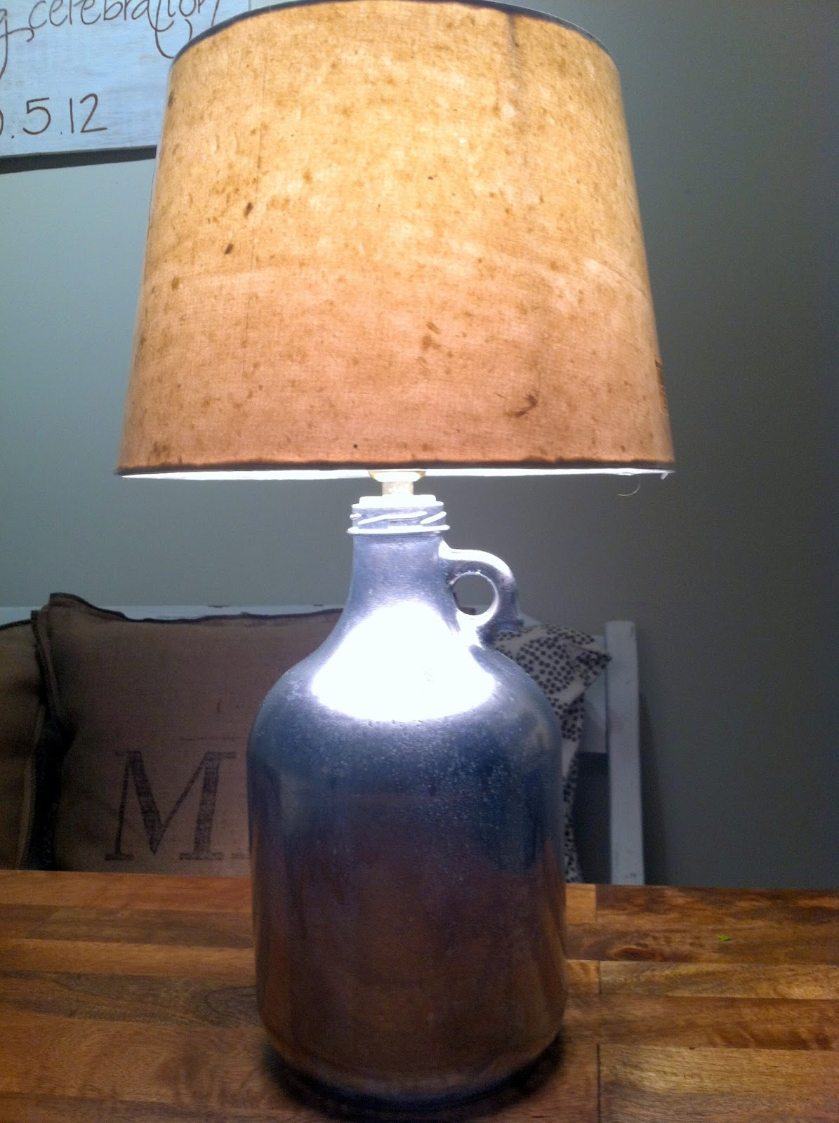 Hopes Amp Dreams Diy Mercury Glass Bottle Lamp