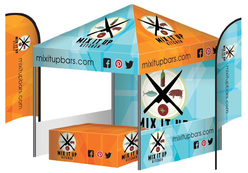 Pop Up Custom Tents with Graphics and More: Our DESIGNS