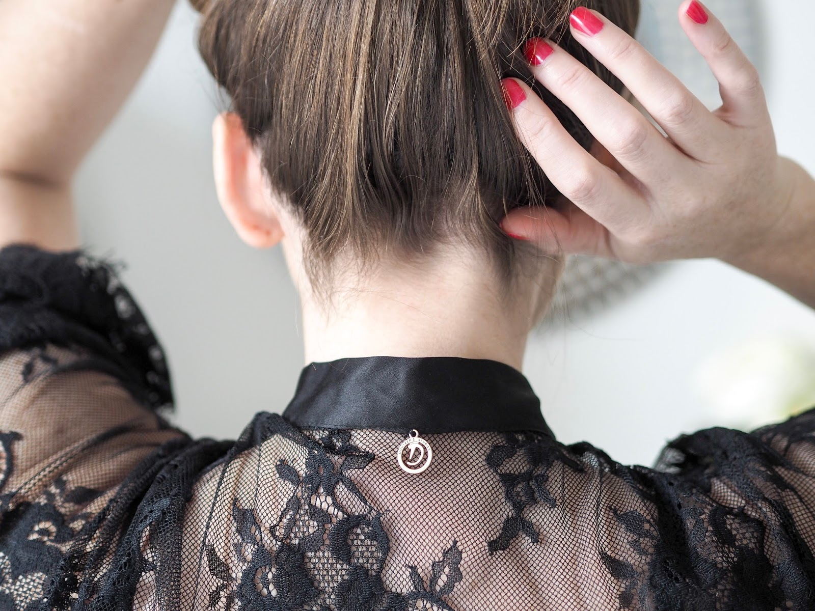 Feel sexy in your forties with a Black lace kimono by Doutzen at Hunkemoller \ lingerie \ underwear \ Priceless Life of Mine \ Over 40 lifestyle blog
