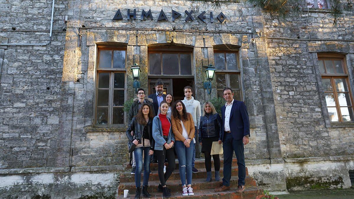Τελετή βράβευσης των πλέον υψηλόβαθμων επιτυχόντων μαθητών του ΓΕΛ Κασσάνδρας στα ΑΕΙ.