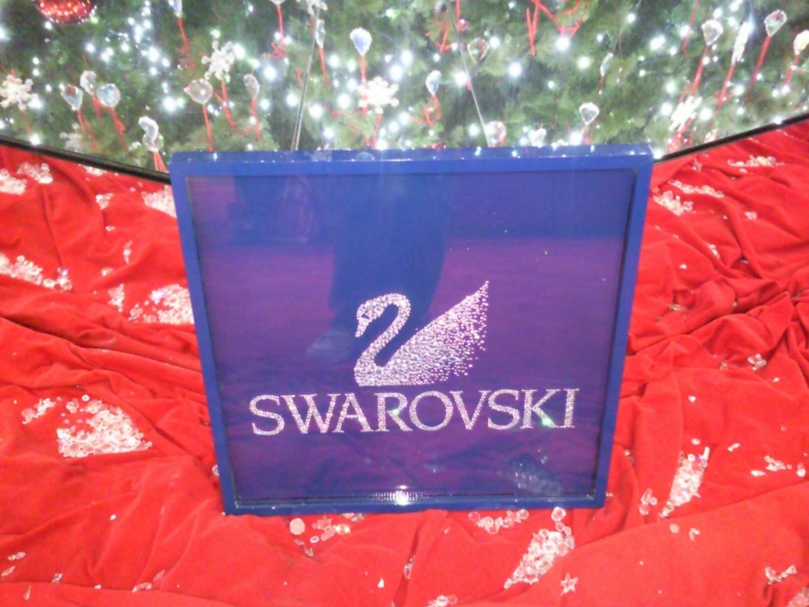 Achados da Mila  Decoração de Natal do Barra Shopping-Swarovski ee7a6c79bf