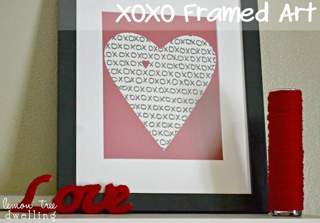 http://www.lemontreedwelling.com/2013/02/xoxo-framed-art.html