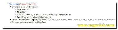 FastStone Capture 8.8 - Изменения в версии 8.8