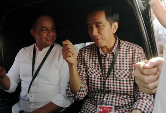 Satu Mobil Bersama Jokowi, Ini Kata Anies Baswedan