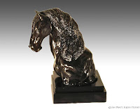 clay horse sculptures, ceramic horse sculptures, horse art