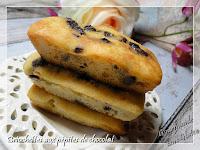 Briochettes aux pépites de chocolat, sans gluten