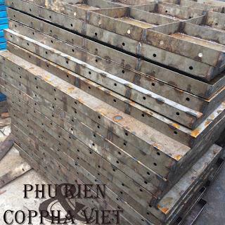 Coppha thép sử dụng trong công trình
