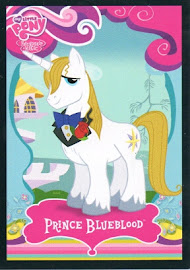 My Little Pony Prince Blueblood Series 1 Trading Card