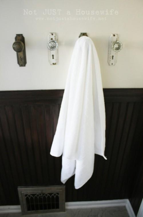 Cindy Morgan Creative Ways To Hang Bathroom Towels