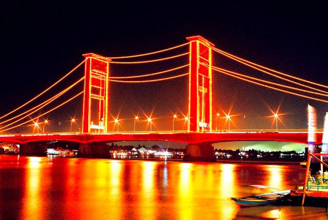 Gambar Jembatan Ampera Di Sumatera Selatan